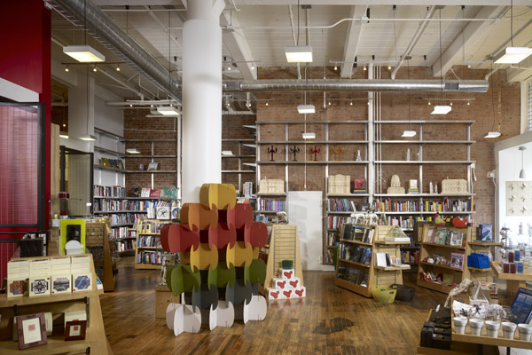 The AIA Bookstore sells wonderful books about architecture, art and design, along with other gifts.